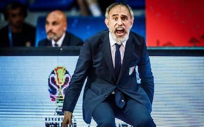 "ItalBasket, Crespi: ""Commessi tanti falli inutili"""
