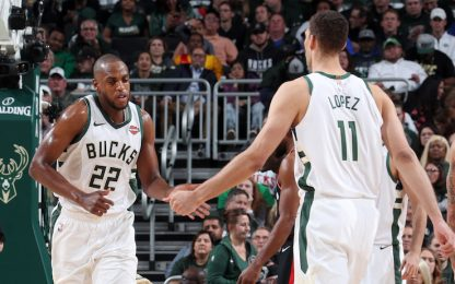 Bucks con Middleton e Lopez, via Brogdon e Mirotic