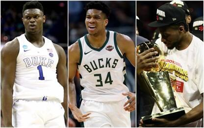 Tutte le candidature NBA agli ESPYS 2019