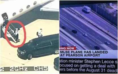 Leonard e il mistero dell'aereo arrivato a Toronto