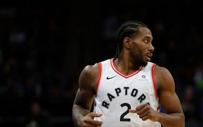 La decisione di Kawhi, le reazioni del mondo NBA