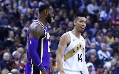 I Lakers firmano Green, Caldwell-Pope e McGee