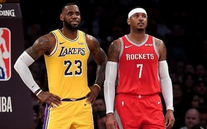 Lakers, c'è ancora posto: il mercato non è finito