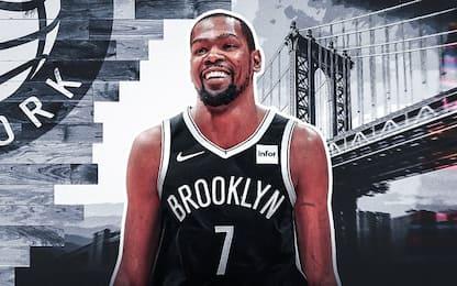 Durant ha scelto Brooklyn senza dire nulla ai Nets