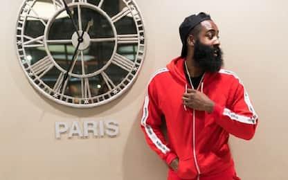 """Harden a Parigi: """"Westbrook non era contento"""""""
