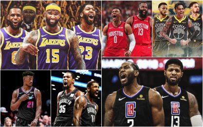 La classifica delle squadre NBA dopo il mercato