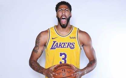 """Davis: """"LeBron mi vuole leader di questi Lakers"""""""