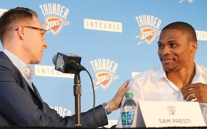 "Presti: ""Westbrook la star più importante di OKC"""