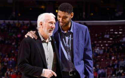 Tim Duncan allenatore: vice di Popovich agli Spurs