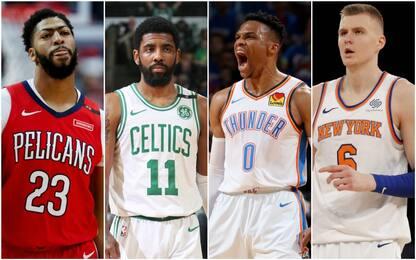 Le prime da ex: Irving a Boston, Westbrook a OKC