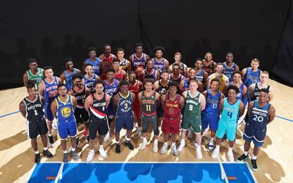 Tutti i rookie NBA come non li avete mai visti