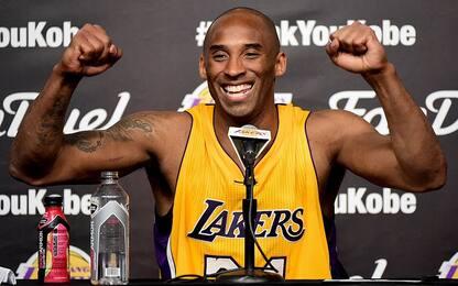 Kobe Bryant compie 41 anni: auguri Black Mamba