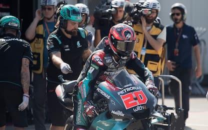 MotoGP, test Misano: super Quartararo, 2° Petrucci