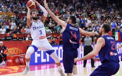 L'Italia ci prova, la Serbia è più forte: ko 92-77