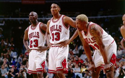 "Rodman: ""Io, MJ e Pippen: noi il primo Big Three"""