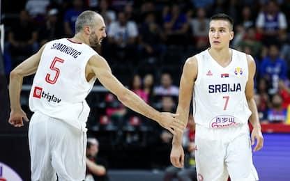 La Serbia chiude quinta, battuta la Rep. Ceca