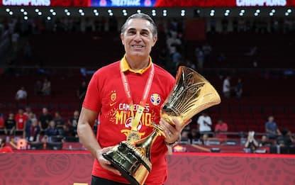 """Trionfo Scariolo: """"Il basket premia chi lotta"""""""