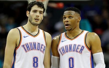 "Abrines: ""Westbrook mi ha aiutato tantissimo"""