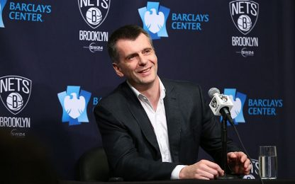 """Nets, Prokhorov se ne va: """"È stato divertente"""""""
