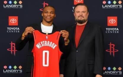 "Morey: ""Con Westbrook Rockets favoriti a Ovest"""
