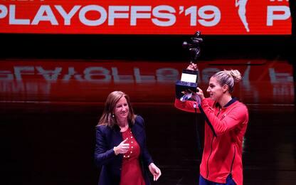 MVP e record: Elena Delle Donne conquista la NBA