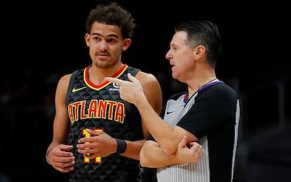 La NBA fa chiarezza sulle infrazioni di passi