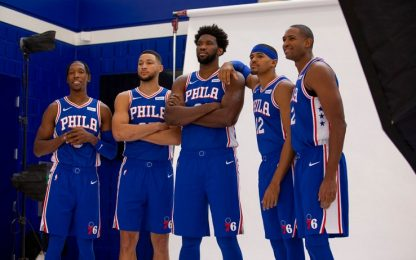"""Embiid lancia i 76ers: """"60 vittorie e il seed n°1"""""""