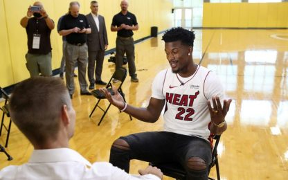 Heat, Jimmy Butler in palestra alle 3.30 di notte