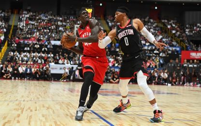 Westbrook debutta in Giappone, ma vince Toronto
