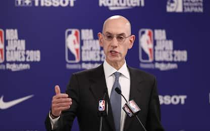 """""""China-gate"""": la posizione di Silver e della NBA"""