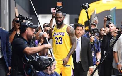 Niente domande in (e sulla) Cina per Lakers e Nets