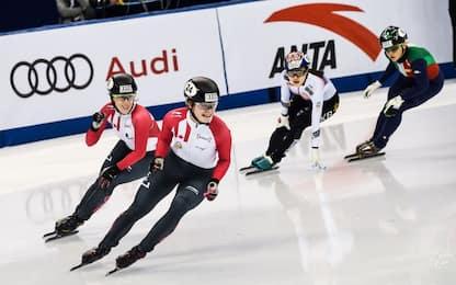 Short track, staffetta donne: Italia ai Giochi