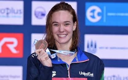 Europei nuoto, 3 argenti e 2 bronzi per l'Italia