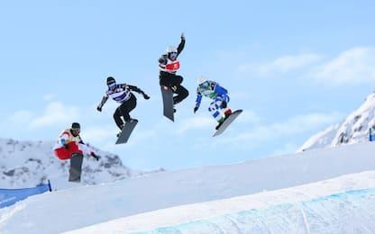 Moioli e Visintin: è super Italia nello snowboard