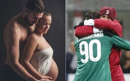 Eroe derby, futuro padre: Antonio Donnarumma sogna