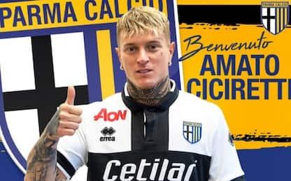 Benevento, Ciciretti va in prestito al Parma