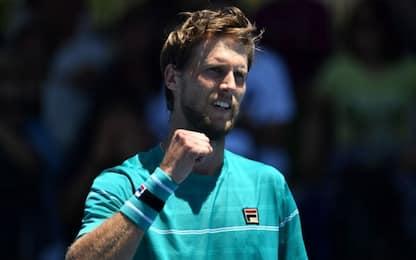 Australian Open, Seppi vola agli ottavi