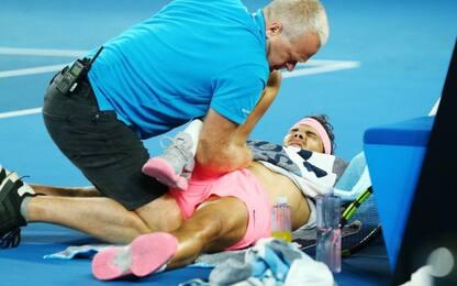 Aus Open: Nadal si ritira, fuori Dimitrov!