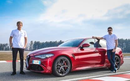 Ericsson e Leclerc a scuola di Alfa Romeo