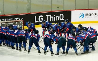 Coree unite, hockey femminile ko contro la Svezia