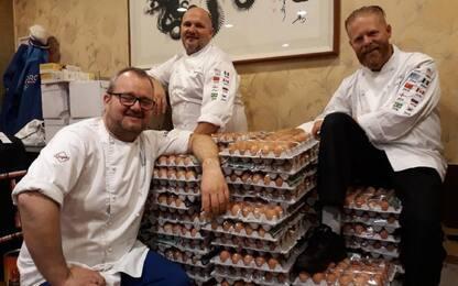 """Norvegia, ordine """"strapazzato"""": ecco 15mila uova"""