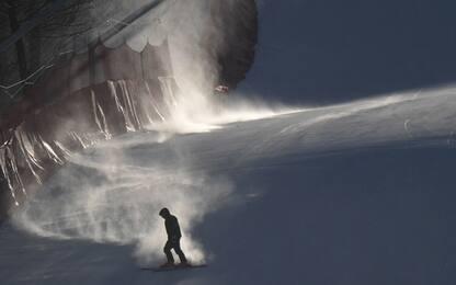 Troppo vento, slitta il programma di Sci alpino