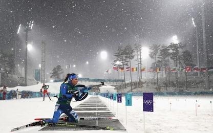 Biathlon, azzurre lontano dal podio: sono none
