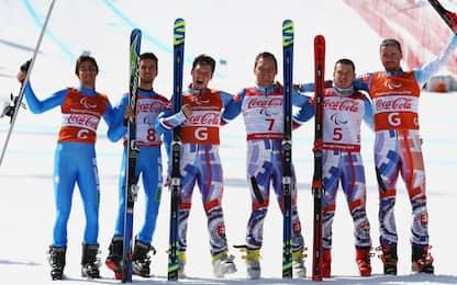 Paralimpiadi 2018, Bertagnolli argento in Super G