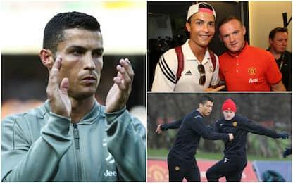 """Rooney dice Juve: """"Con CR7 arriverà la Champions"""""""