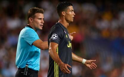 Juve, 1 giornata per Ronaldo: salta lo Young Boys
