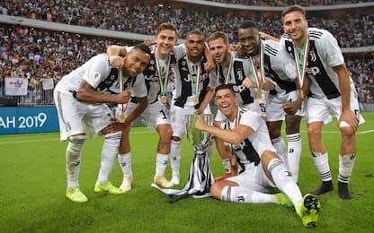 Decide CR7, alla Juve la Supercoppa: Milan ko 1-0