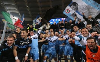 La Lazio domina il derby: Roma battuta 3-0