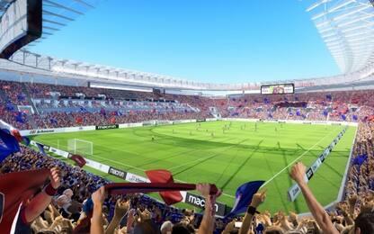 Cagliari, ok a nuovo stadio: avrà 30mila posti