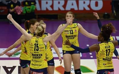 Conegliano campione d'Italia: Novara ko